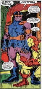 Thanos første optræden