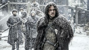 Jon in the snow