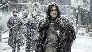 Jon in the snow