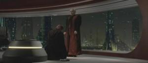 Darth Vader vælger at blive ond.