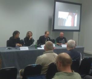 Panel om visuel symbolik i science fiction film.
